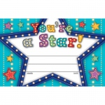 (6 Pk) Marquee Youre A Star Awards