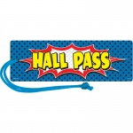 (6 Ea) Superhero Magnetic Hall Pass