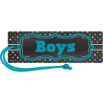 (6 Ea) Chlkbrd Brights Magnetic Boy