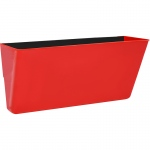 Letter Size Magnetic Wall Pocket Red