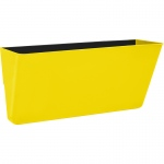 Letter Size Magnetic Wall Pocket Yellow
