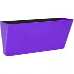 Letter Size Magnetic Wall Pocket Purple