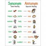 Anchor Chart Synonym And Antonym