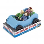 Road Trip Wooden Car And Poseable