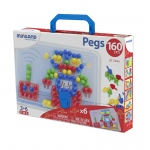 Primary Peg Sts 5/8in Pegs 160 Pcs