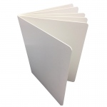 White Hardcover Blank Book 8 1/2x11