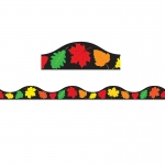 Magnetic Border Fall Leaves 1w Seasonal