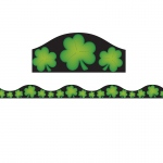 Magnetic Border Shamrocks 1w