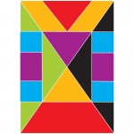 Foam Math Manipulatives Tangrams Fractions