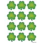 Diecut Magnets Shamrocks
