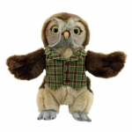 Dressed Animal Puppets Owl