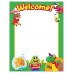 Welcome Playtime Pal Learning Chart Classroom Basics