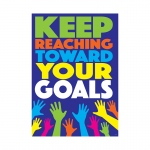 Keep Reaching Toward Your Goals Argus Poster