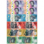 Foam Australian Bills 12 Pcs Manipulatives