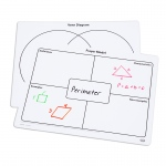 Frayer Model Writeon/wipeoff Mats And Venn Diagram