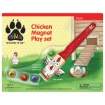 Chicken Magnet Play Set Animal Magnetism