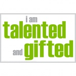I Am Talented And Gifted Poster
