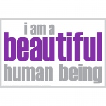 I Am Beautiful Poster