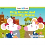 City Mouse And Country Mouse Learn To Read