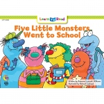 Five Little Monsters Went To School Learn To Read