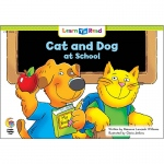 Cat And Dog At School Learn To Read