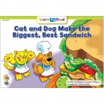 Cat Dog Make Biggest Best Sandwich Learn To Read