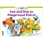 Cat And Dog On Playground Patrol Learn To Read