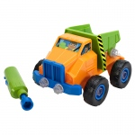 Design Pwr Play Vehicle Dump Truck And Drill