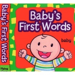 Babys First Words Cloth Book