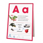 Learning Flip Charts Alphabet Animal Friends
