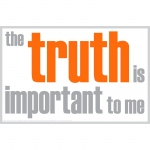 The Truth Is Important Poster
