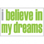 I Believe In My Dreams Notes 20 Pk