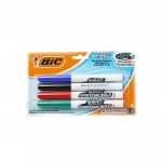Bic Great Erase Dry Erase Fine Point Markers 4 Pack