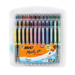 Bic Mark It Permanent Markers 36pk Ultra Fine Point Asstd Color