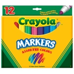 Crayola Markers 12ct Asst Colors Conical Tip