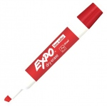 Expo 2 Low Odor Dry Erase Marker Chisel Tip Red