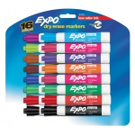 Expo Low Odor Dry Erase 16 Color Set Markers