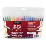 Sargent Art 20ct Classic Brush Tip Markers