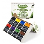Crayola Washable Markers Classpack 200ct 8 Colors Conical Tip