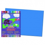 Sunworks 12x18 Blue Groundwood Construction Paper 50sht