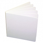 White Hardcover Blank Book 5 X 5