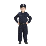 Aeromax Junior Police Officer Suit with Cap & Belt: Size for 4 to 6 Years