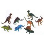 Get Ready Kids Plastic Animal Play Set: Dinosaurs, 8 Pieces