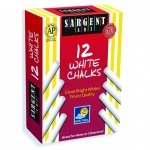 Sargent Art Sargent School Gr Dustless Chalk White