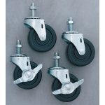 Bulman Heavy-Duty Casters: Set of 4