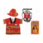 Aeromax My 1st Career Gear Firefighter, Jr. Fire Chief Helmet, Firepower and Firefighter Accessory Pack