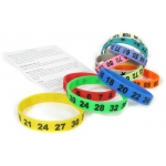 American Educational Math Bands: Set of 12