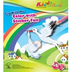 American Educational Fly With Me Color with Sticker Fun