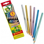 American Educational Supersticks Metallic Colored Pencil Set of 6