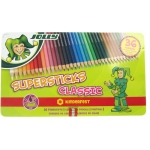American Educational Supersticks Premium Colored Pencil Tin Box Of 36